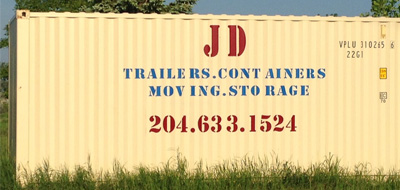 Storage Units JD Trailer Rentals and Compound Winnipeg Storage